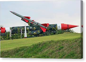Cuban Missile Crisis Display. Canvas Print by Mark Williamson