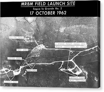 Cuban Missile Crisis Launch Site Canvas Print by Us Air Force