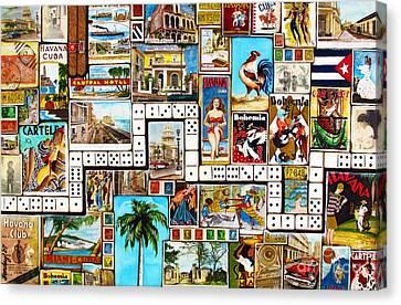 Cubana Canvas Print by Joseph Sonday