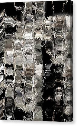 Cubes Unraveled  Canvas Print by Jack Zulli