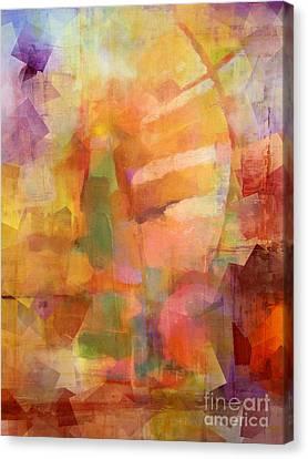 Cubic Impression Canvas Print by Lutz Baar