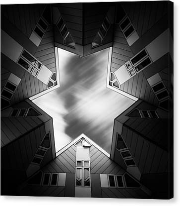 Dave Canvas Print - Cubic Star by Dave Bowman