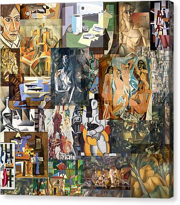 Cubism 1907 To 1914 Canvas Print