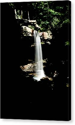 Canvas Print featuring the photograph Cucumber Falls Wat 208 by G L Sarti