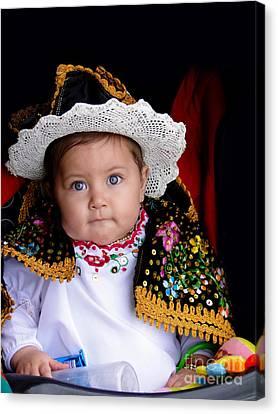 Cuenca Kid 561 Canvas Print by Al Bourassa