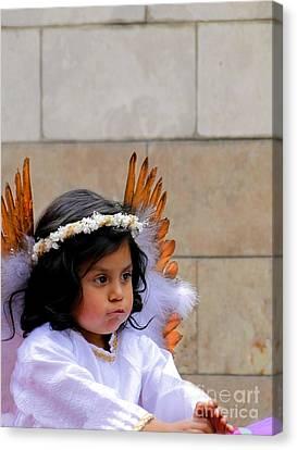 Cuenca Kids 296 Canvas Print by Al Bourassa