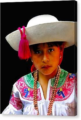 Cuenca Kids 310 Canvas Print
