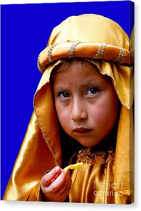Cuenca Kids 315 Canvas Print by Al Bourassa