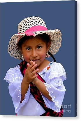 Cuenca Kids 318 Canvas Print
