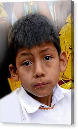Cuenca Kids 411 Canvas Print