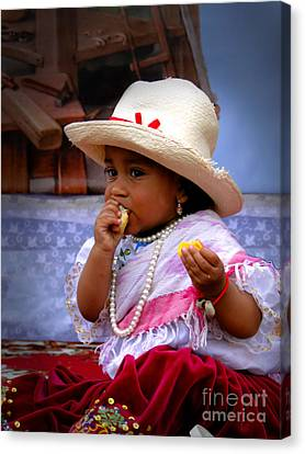 Cuenca Kids 435 Canvas Print