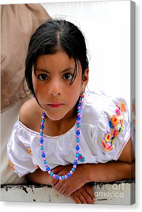 Cuenca Kids 448 Canvas Print