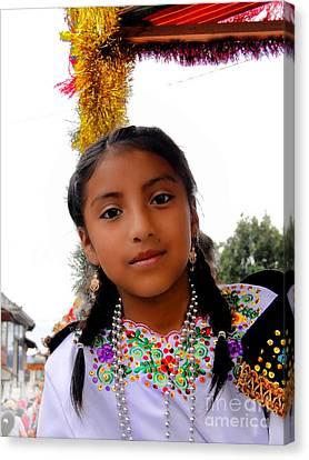 Cuenca Kids 463 Canvas Print by Al Bourassa