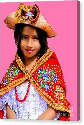 Cuenca Kids 494 Canvas Print