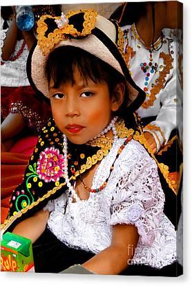Cuenca Kids 497 Canvas Print