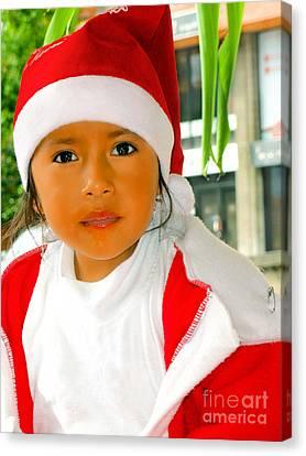 Cuenca Kids 502 Canvas Print