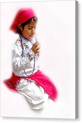 Cuenca Kids 507 Canvas Print