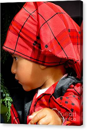 Cuenca Kids 514 Canvas Print by Al Bourassa