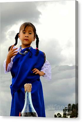 Cuenca Kids 554 Canvas Print by Al Bourassa