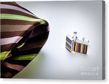 Cuff Links Canvas Print by Tim Hester