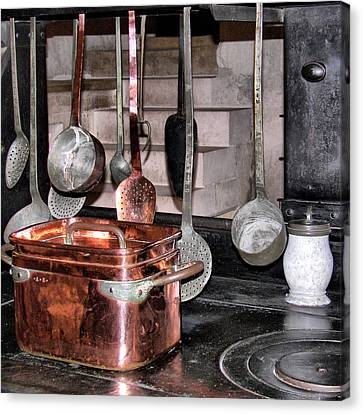 Indoor Still Life Canvas Print - Cuisine At Chenonceau #2 by Nikolyn McDonald