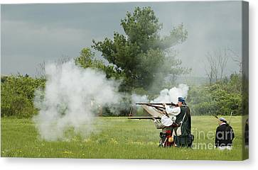 Canvas Print featuring the photograph Culloden Jacobites by Carol Lynn Coronios