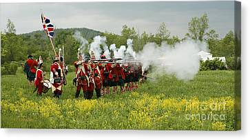 Canvas Print featuring the photograph Culloden Loyalists by Carol Lynn Coronios