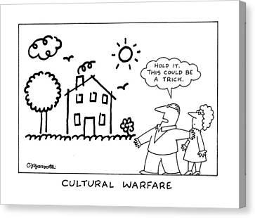 Cultural Warfare Canvas Print