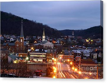 Cumberland At Night Canvas Print