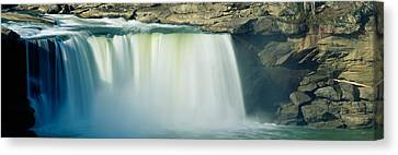 Cumberland Falls, Cumberland River Canvas Print by Panoramic Images