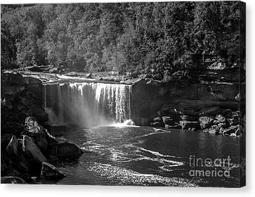 Cumberland Falls Five Bw Canvas Print