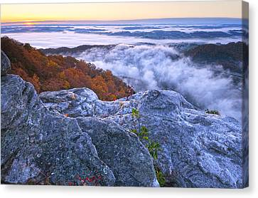 Cumberland Gap Sunrise Canvas Print