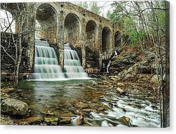 Cumberland Waterfall Canvas Print by Debbie Green