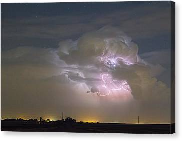 Cumulonimbus Cloud Explosion Canvas Print
