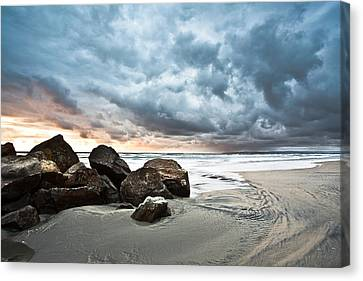 Canvas Print featuring the photograph Cumuloterra by Ryan Weddle
