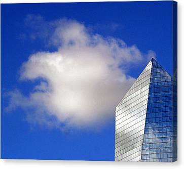 Cumulus And Cira Canvas Print by Lisa Phillips