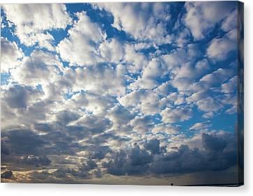 Cumulus Cloudscape Canvas Print by Photostock-israel