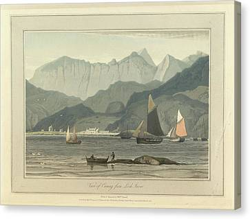 Cuniag From Loch Inver Canvas Print by British Library