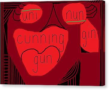 Cunning  Canvas Print by Anita Dale Livaditis