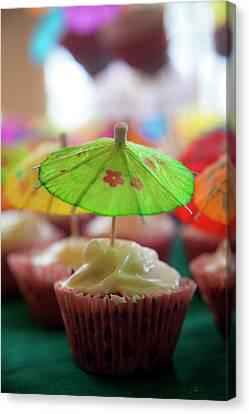 Cupcakes Canvas Print by Douglas Peebles