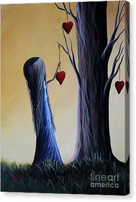 Cupid's Tree By Shawna Erback Canvas Print by Shawna Erback