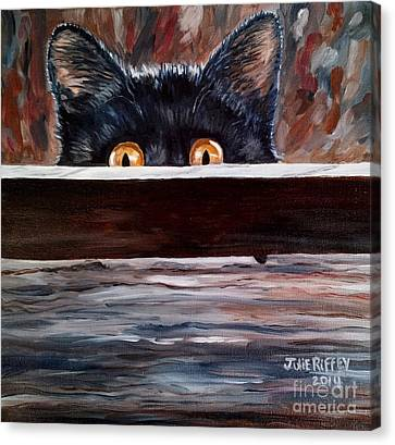 Curiosity Canvas Print by Julie Brugh Riffey