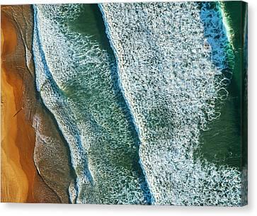 Curl Curl Aerial Canvas Print