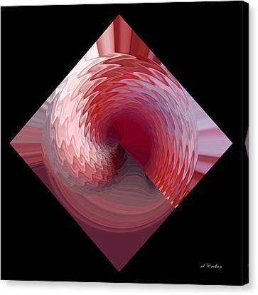 Curl I Canvas Print by rd Erickson