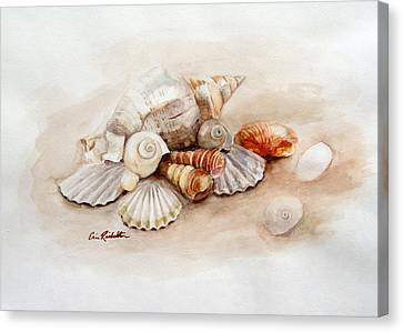 Curls And Swirls Canvas Print