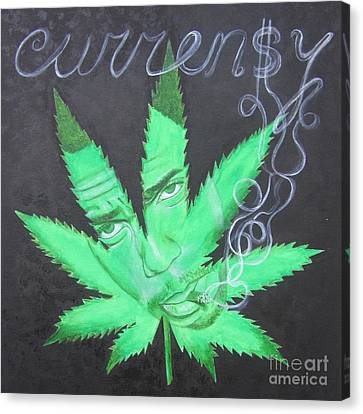 Currensy Canvas Print by Jeepee Aero