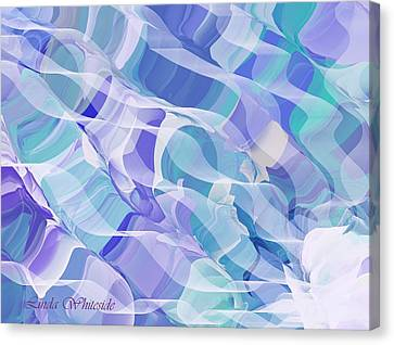 Currents Canvas Print by Linda Whiteside