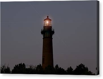 Canvas Print featuring the photograph Currituck Lighthouse by Greg Reed