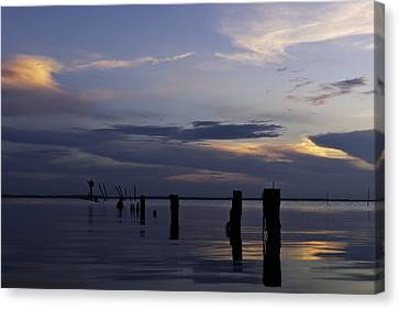 Currituck Sound Sunset Canvas Print