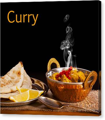 Curry Concept Canvas Print by Colin and Linda McKie